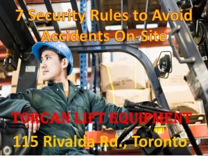 Forklift Training Toronto