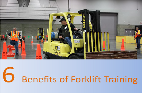6 Benefits of Forklift Training