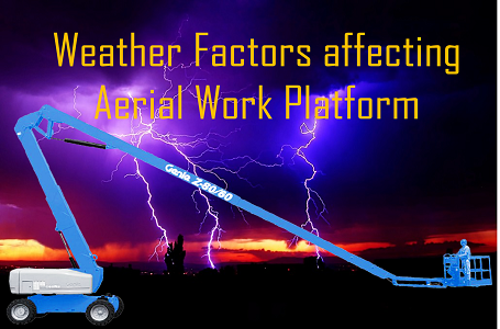 Weather Factors affecting Aerial Work Platform
