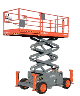 right aerial lift