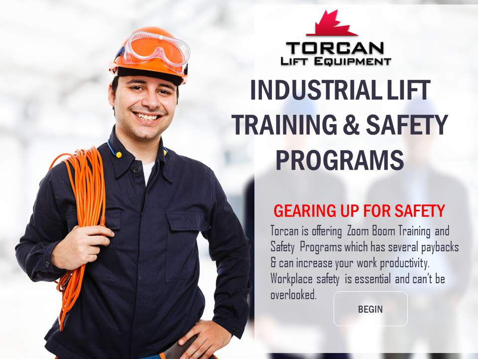 INDUSTRIAL LIFT TRAINING & SAFETY PROGRAMS