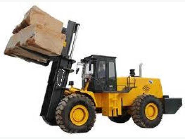 forklifts on constuction sites