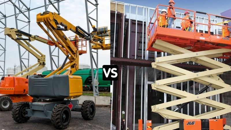 boom lift or scissor lift
